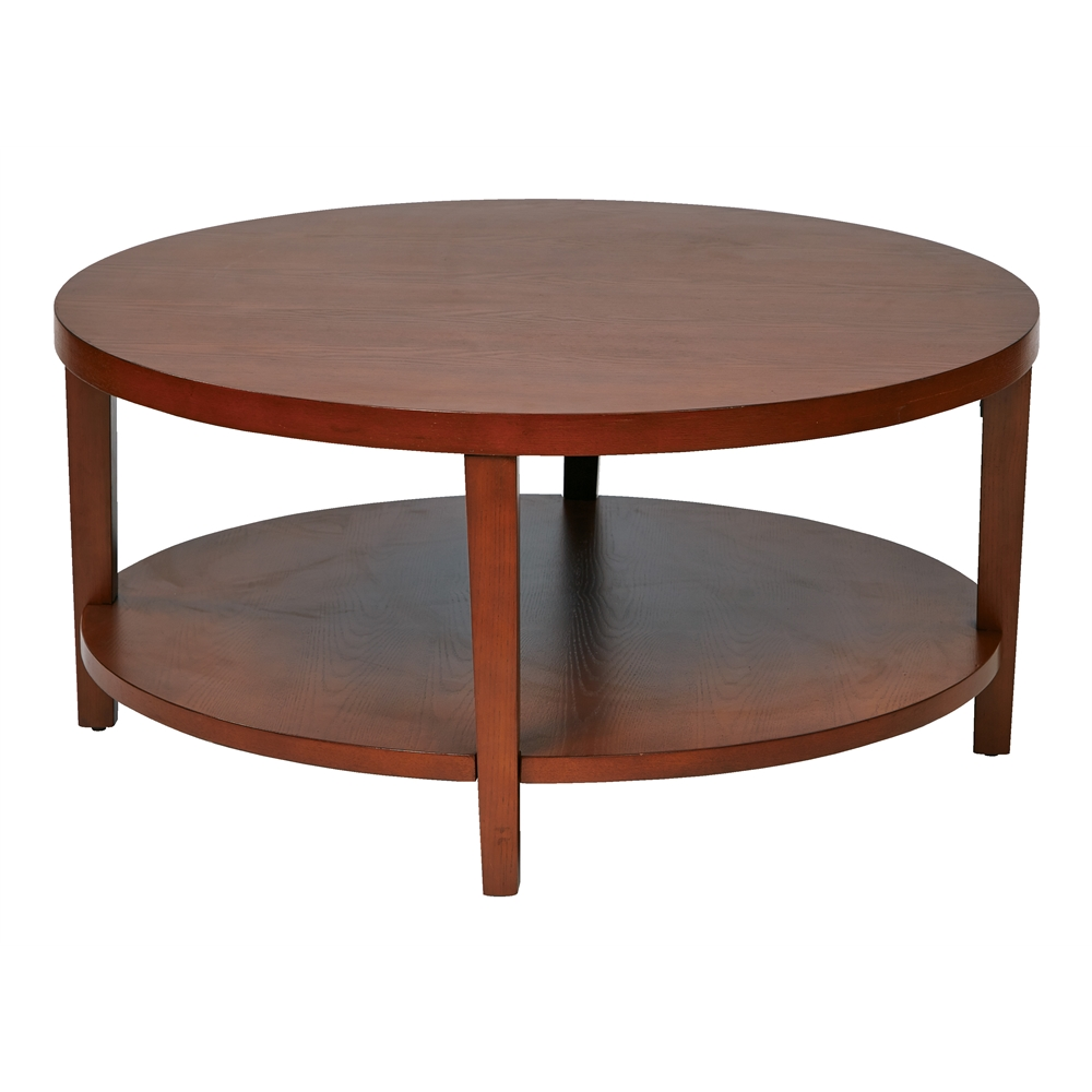 "Merge 36"" Round Coffee Table. Picture 1"