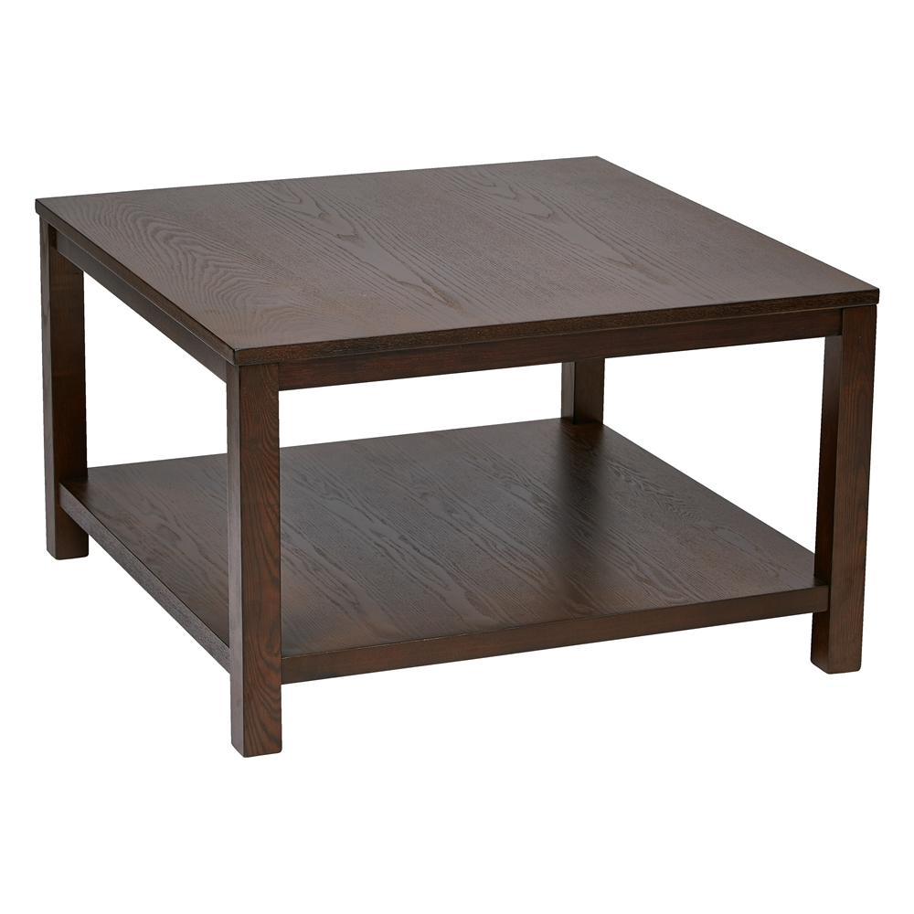 """Merge 30"""" Square Coffee Table. Picture 1"""