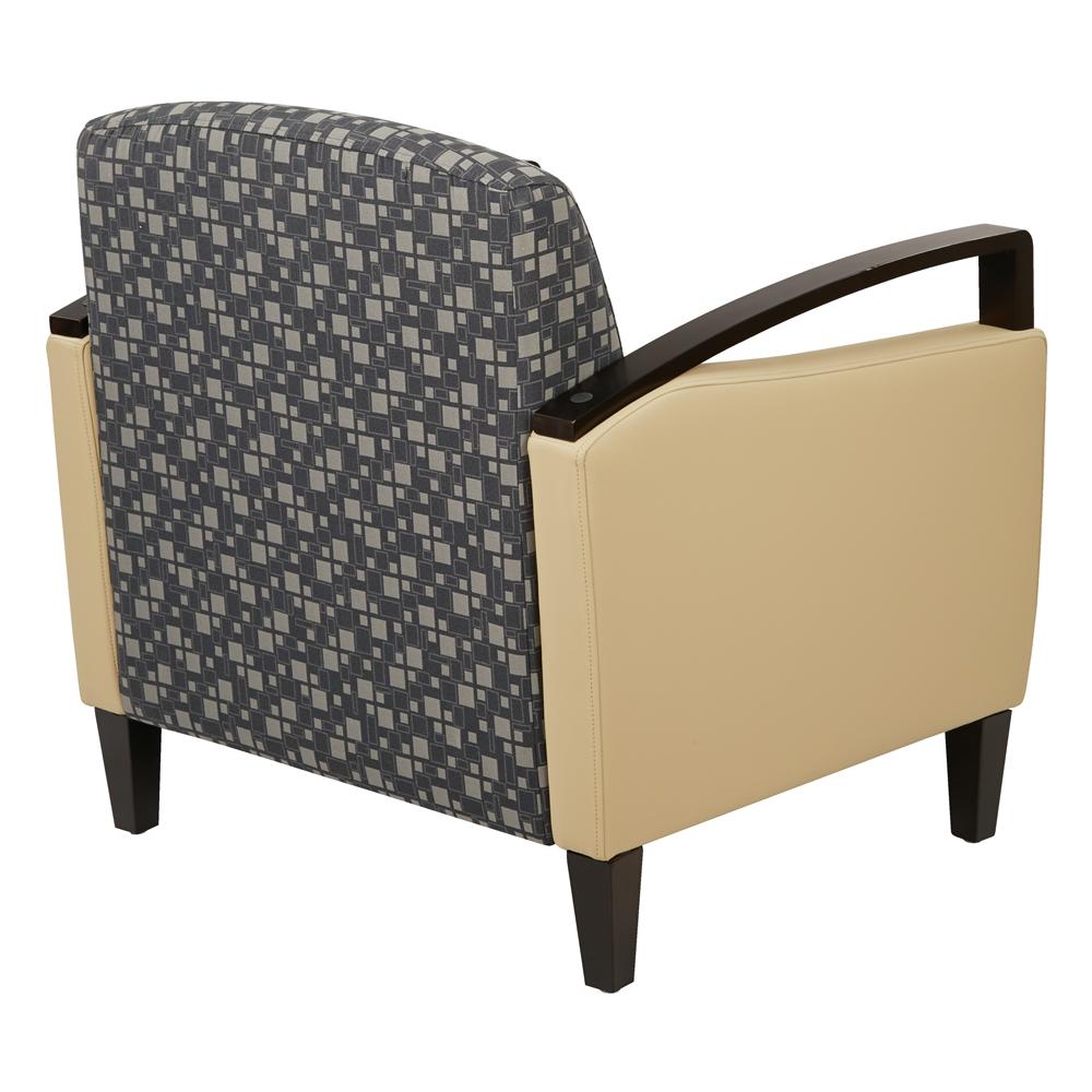 Main Street 2-Tone Custom Fabric Chair. Picture 3