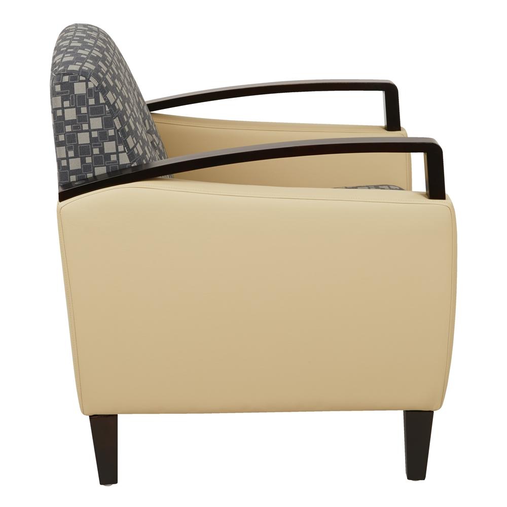 Main Street 2-Tone Custom Fabric Chair. Picture 2