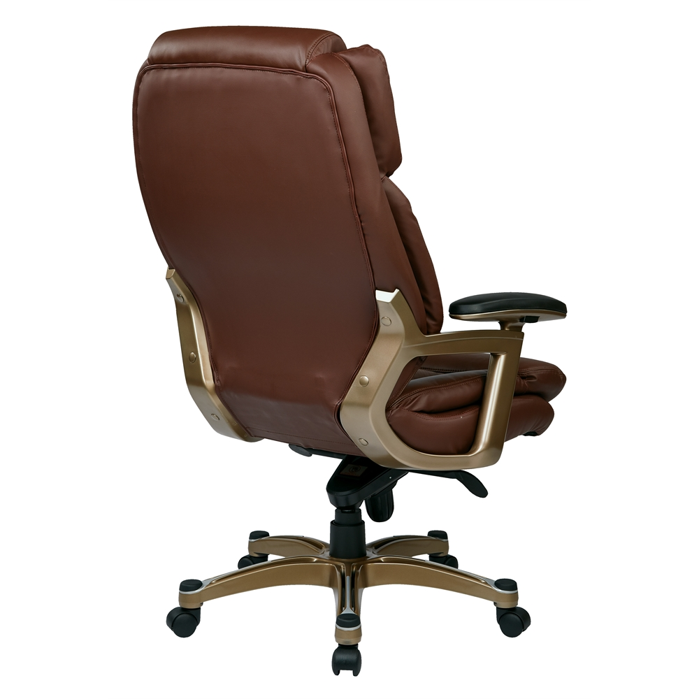 Executive Bonded Leather Chair. Picture 3