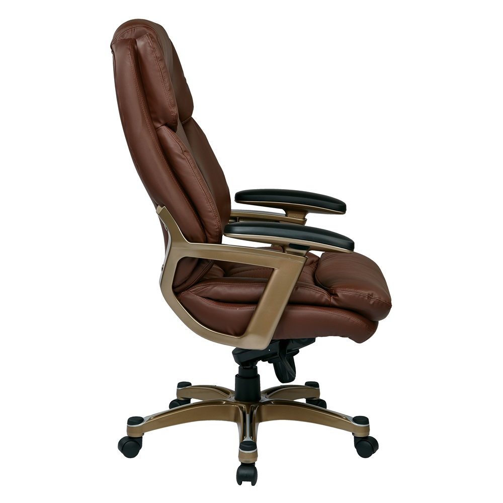 Executive Bonded Leather Chair. Picture 2