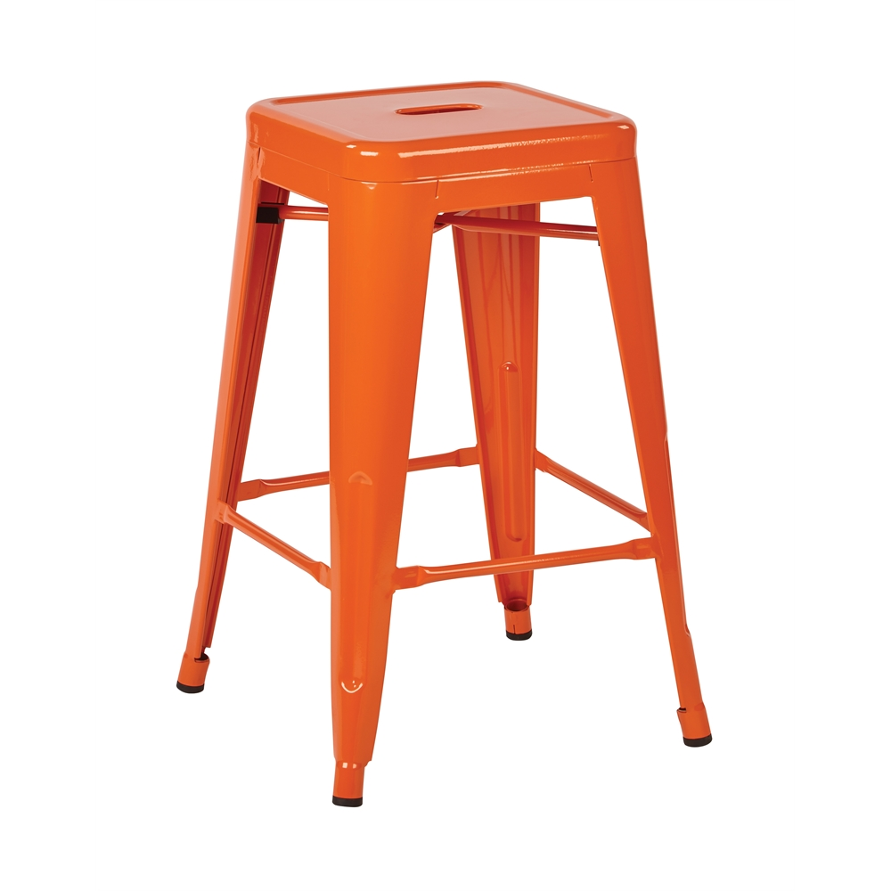"""24"""" Steel Backless Barstool. Picture 1"""