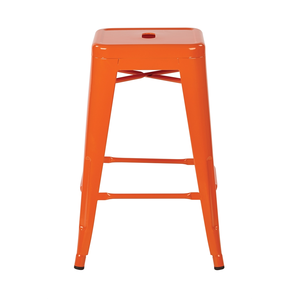 """24"""" Steel Backless Barstool. Picture 2"""