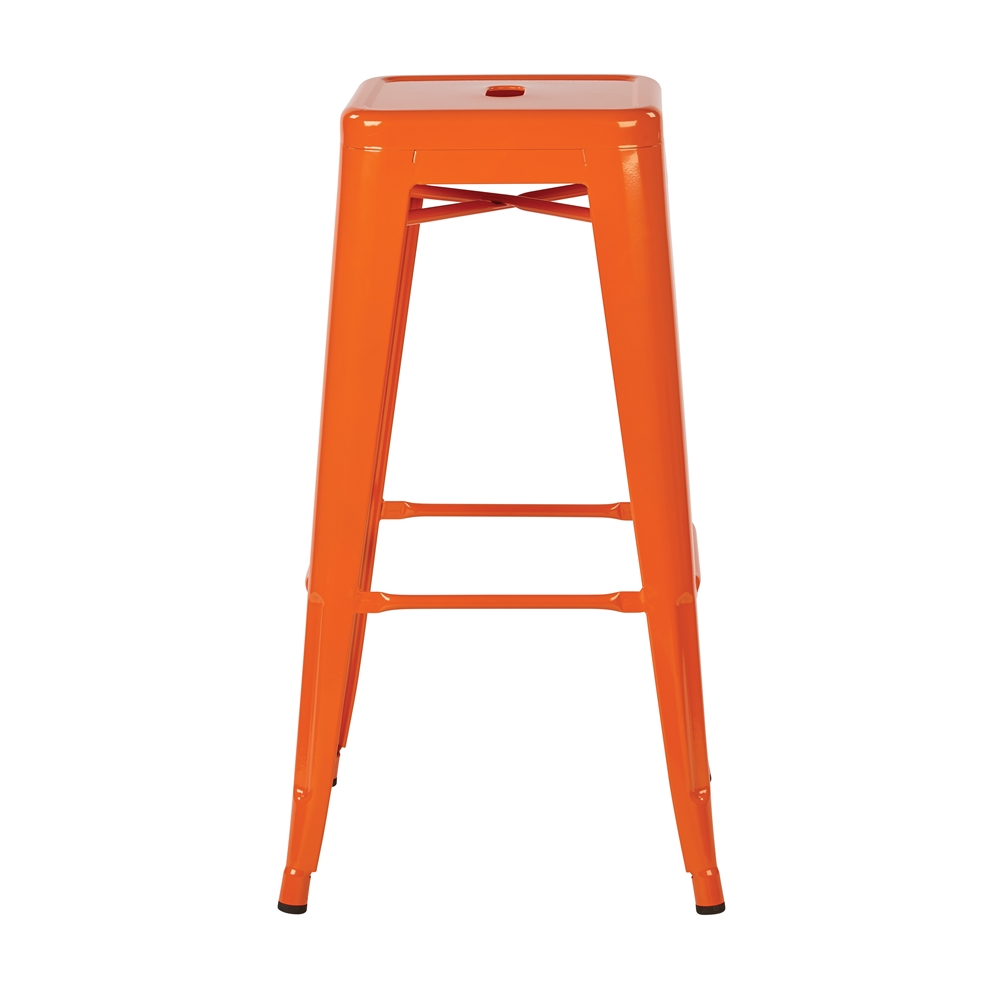 """30"""" Steel Backless Barstool. Picture 2"""