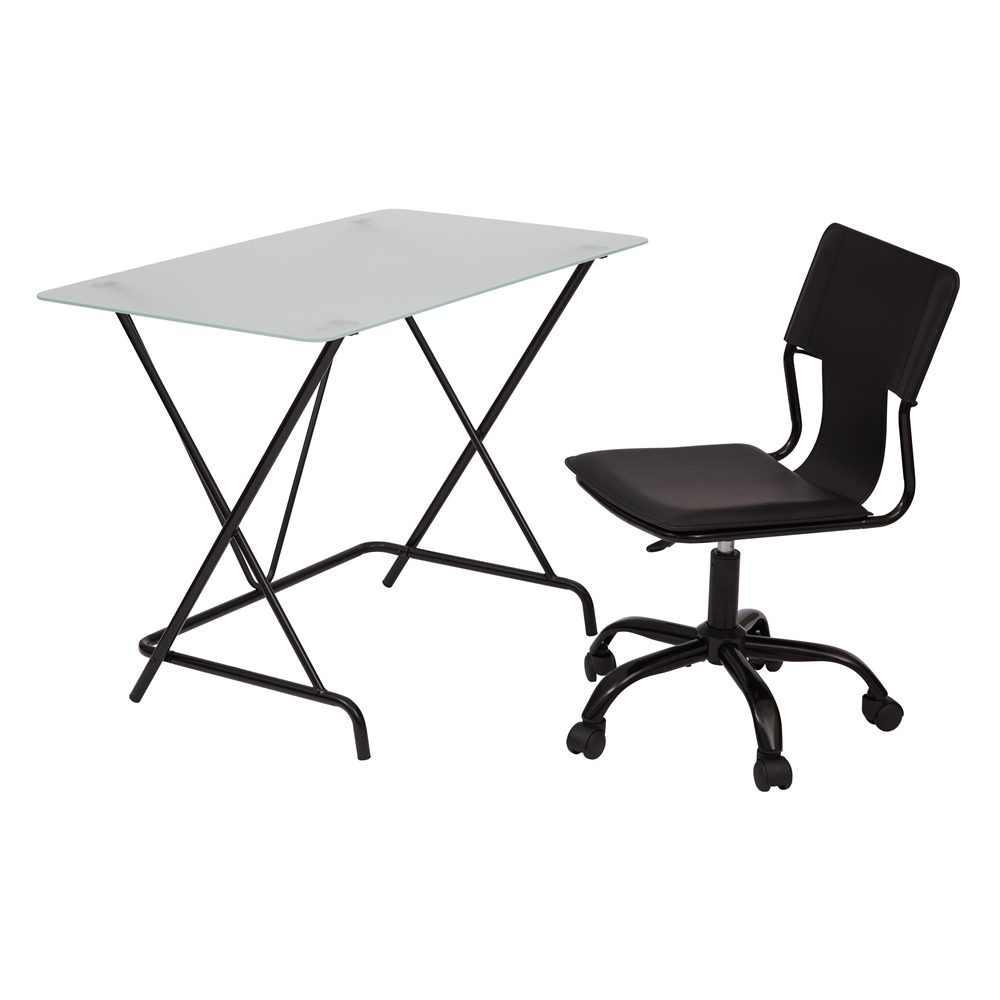 2 Piece Desk And Chair Set