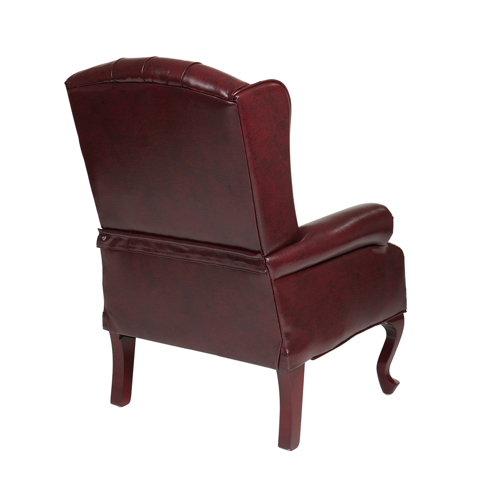Traditional Queen Anne Style Chair. Picture 3