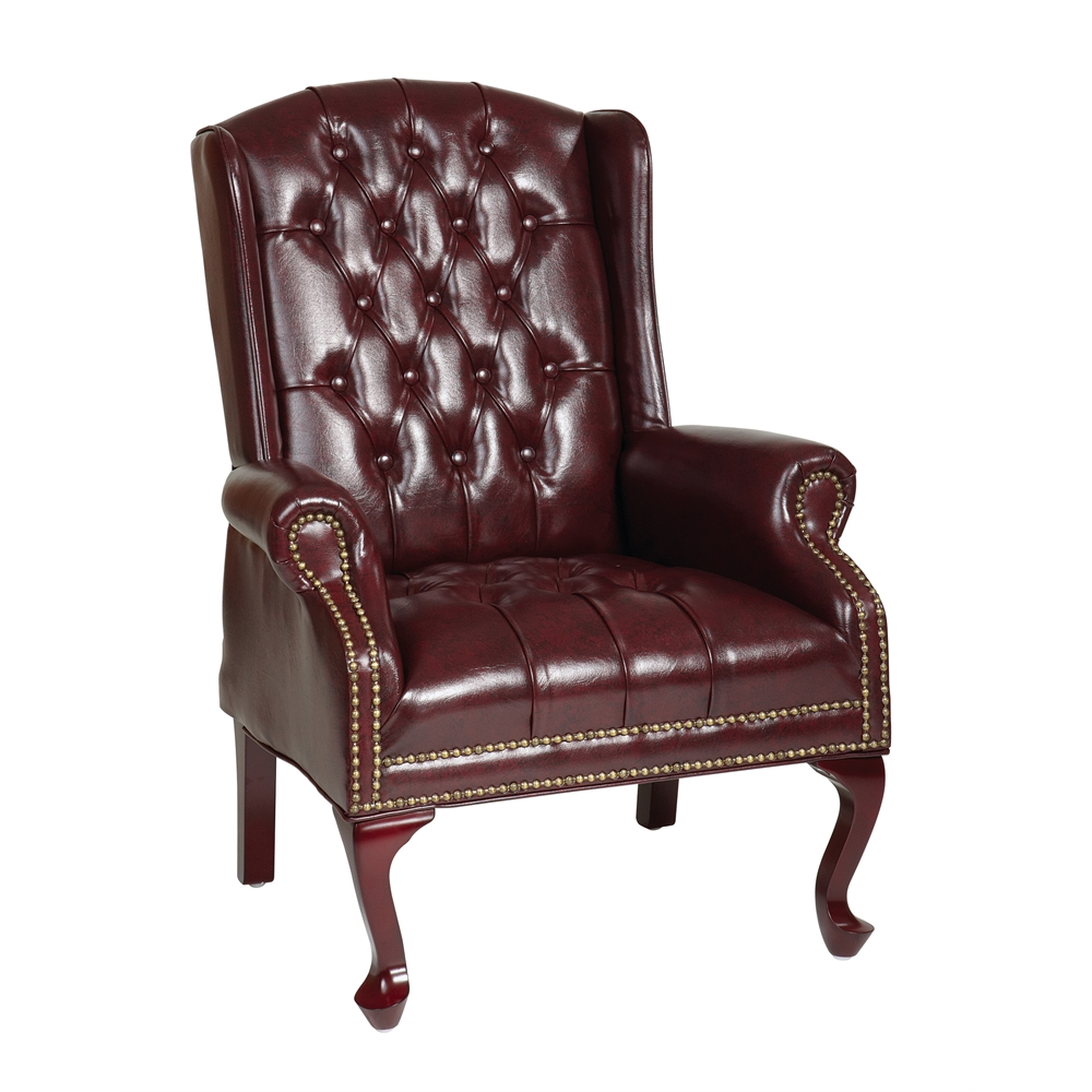 Traditional Queen Anne Style Chair. Picture 1