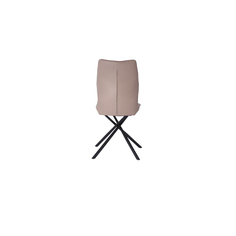 Marlon Dining Chair in Taupe (Set of 2). Picture 4