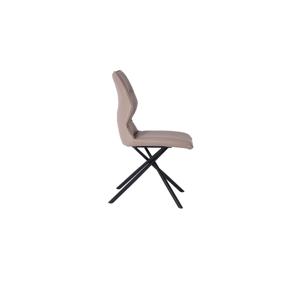 Marlon Dining Chair in Taupe (Set of 2). Picture 3