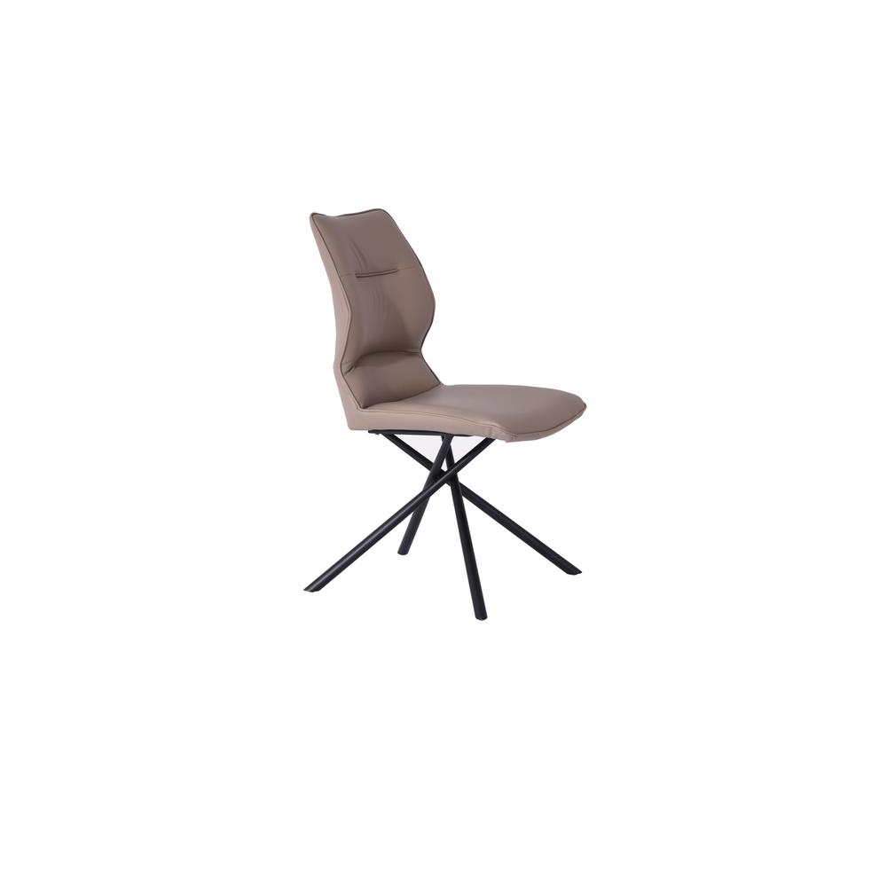 Marlon Dining Chair in Taupe (Set of 2). Picture 1