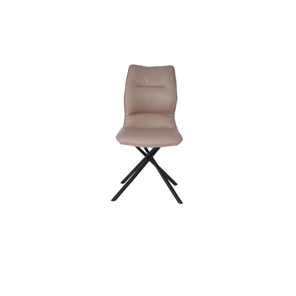 Marlon Dining Chair in Taupe (Set of 2). Picture 2