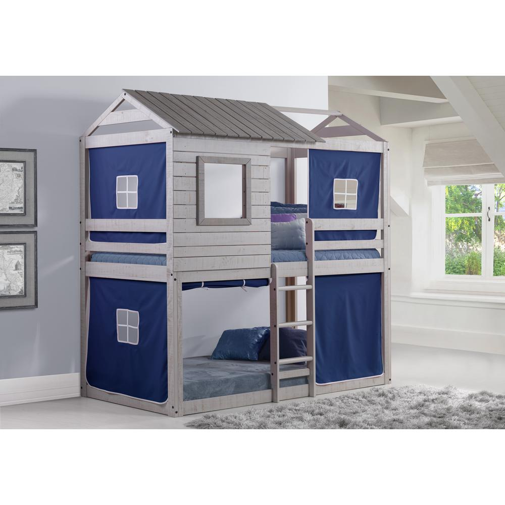 Deer Blind Bunk Loft W/Blue Tent. Picture 2