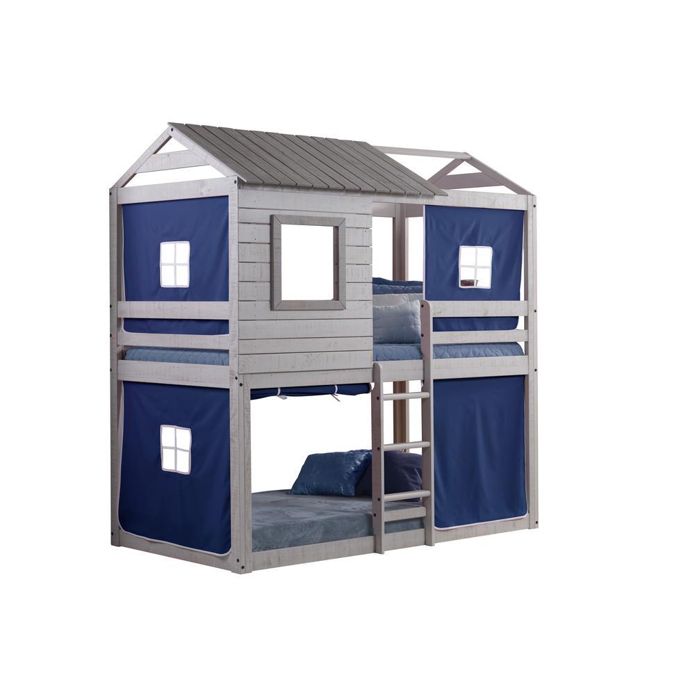 Deer Blind Bunk Loft W/Blue Tent. Picture 3
