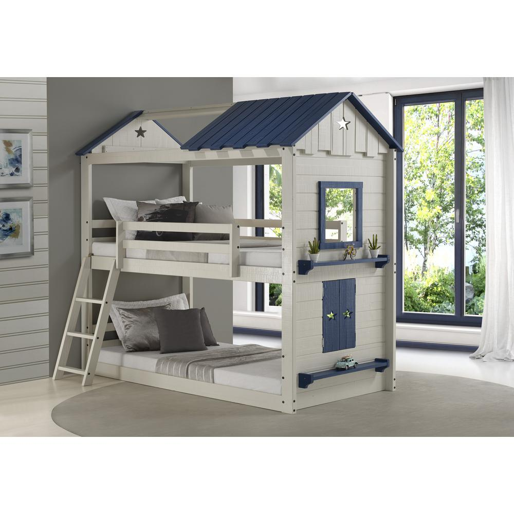 Twin/Twin Star Gaze Bunkbed, Drawers Or Trundle Not Included. Picture 1