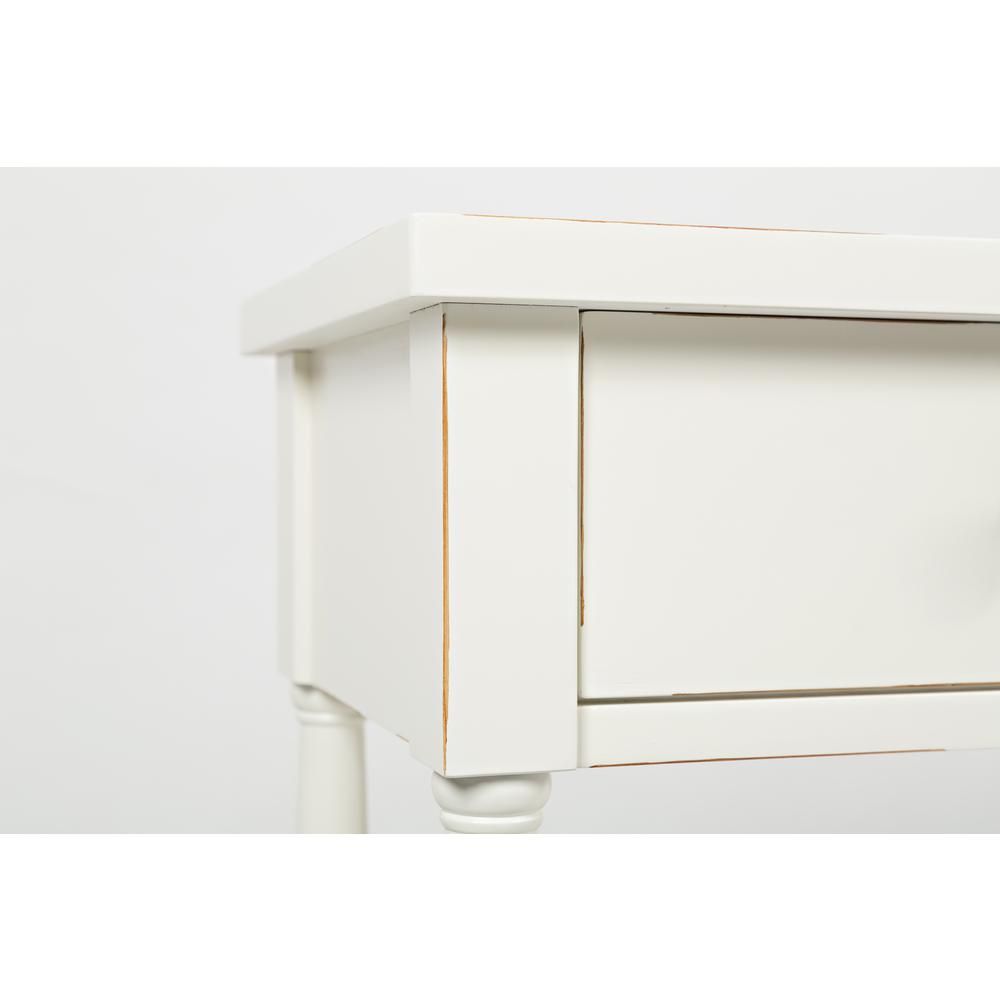 """Stately Home 60"""" Console- Antique White. Picture 3"""