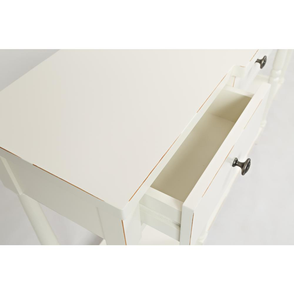 """Stately Home 60"""" Console- Antique White. Picture 7"""