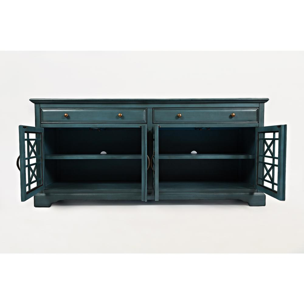 craftsman antique blue 70 quot  media unit 70 inch tv cabinet 70 Inch Wide TV Stands