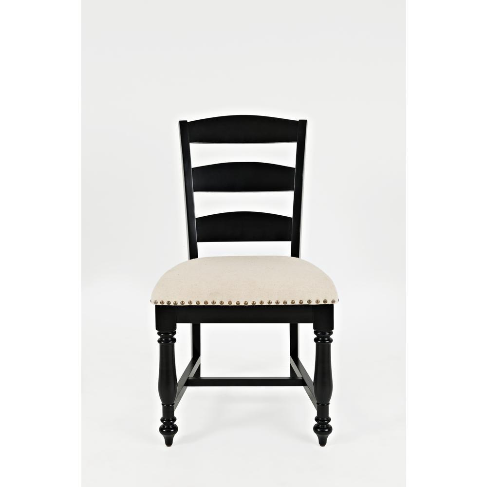 - Castle Hill Ladder Back Dining Chair - Antique Black, Set Of 2