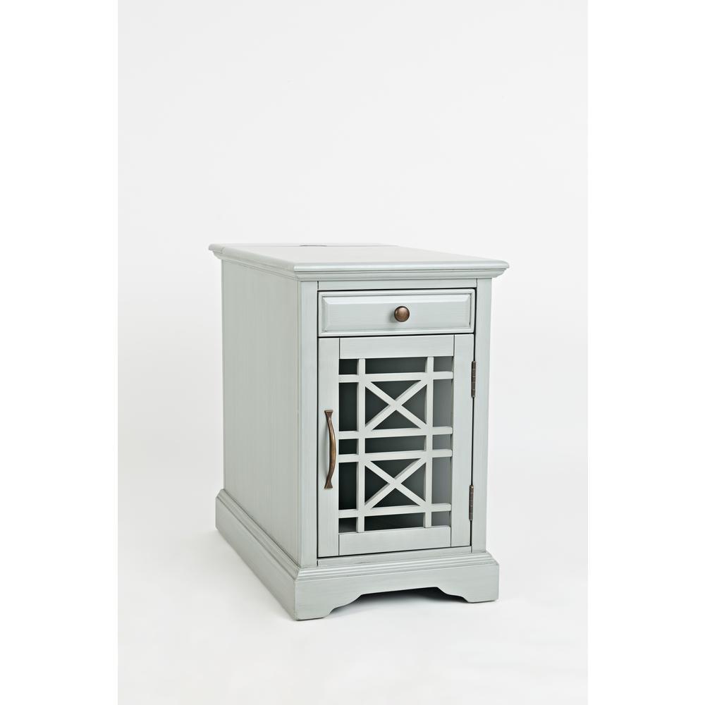 Craftsman Power Chairside Table Earl Grey