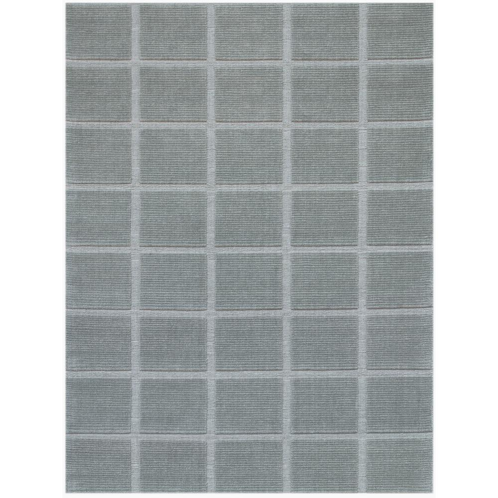 Eco Stay Rug Pad: Estella Gray Hand-Woven Area Rug 5'x8