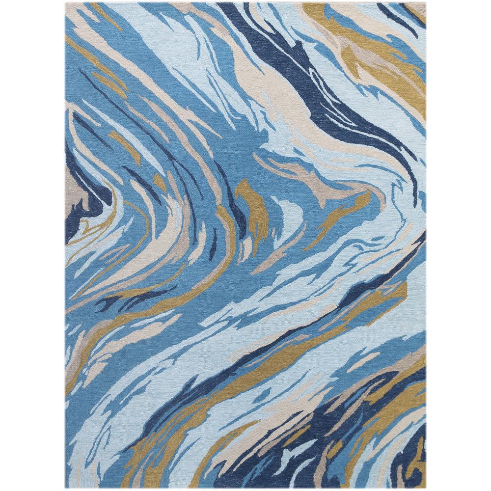 Carrara Blue Hand Tufted Area Rug 8 6 Quot X11 6 Quot
