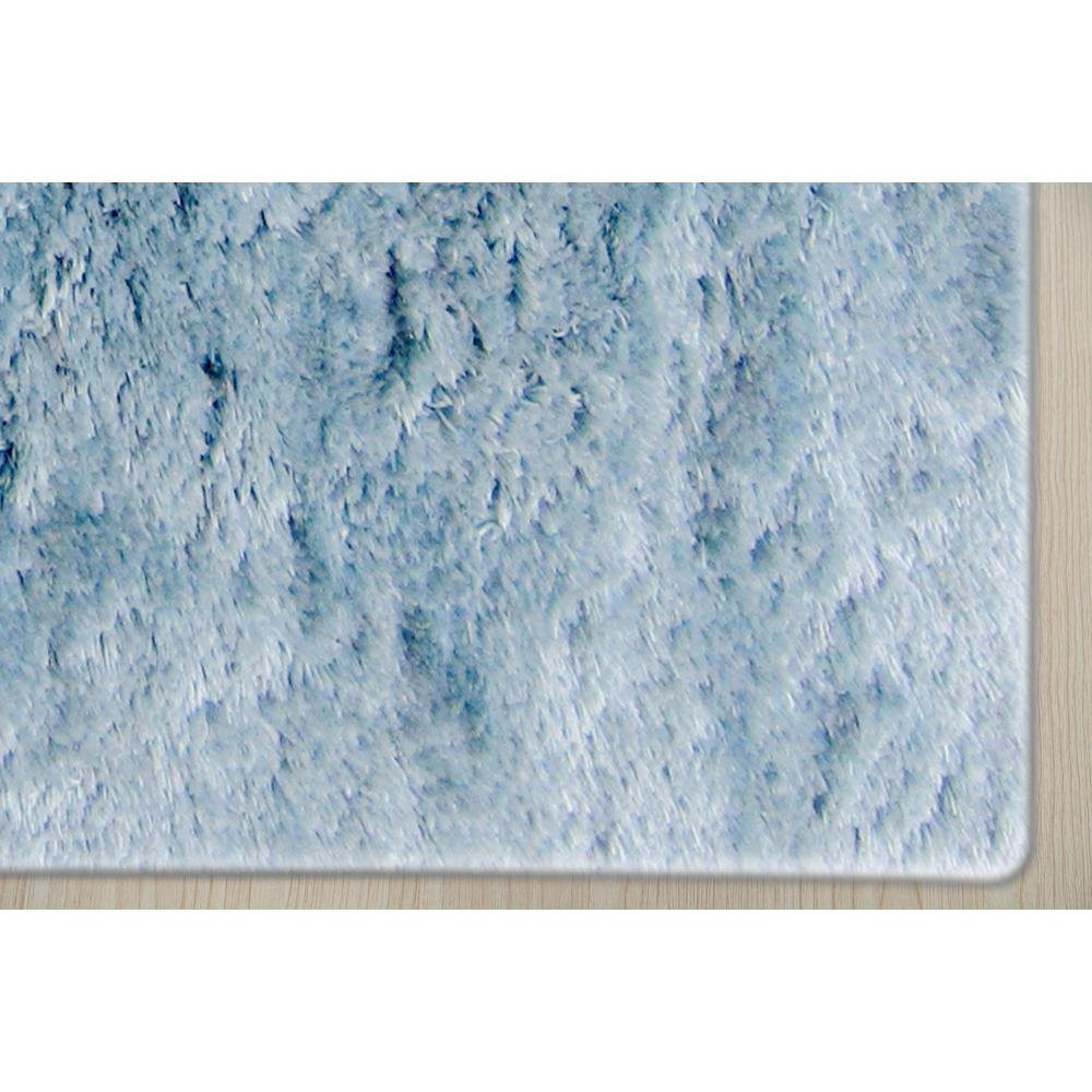 Odyssey Blue Solid Accent Rug 2 X3