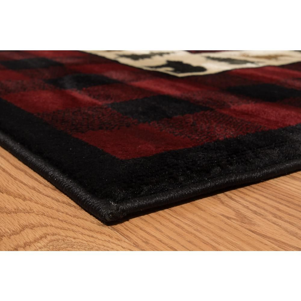 Buffalo Red Rug 1 10 Quot X 3