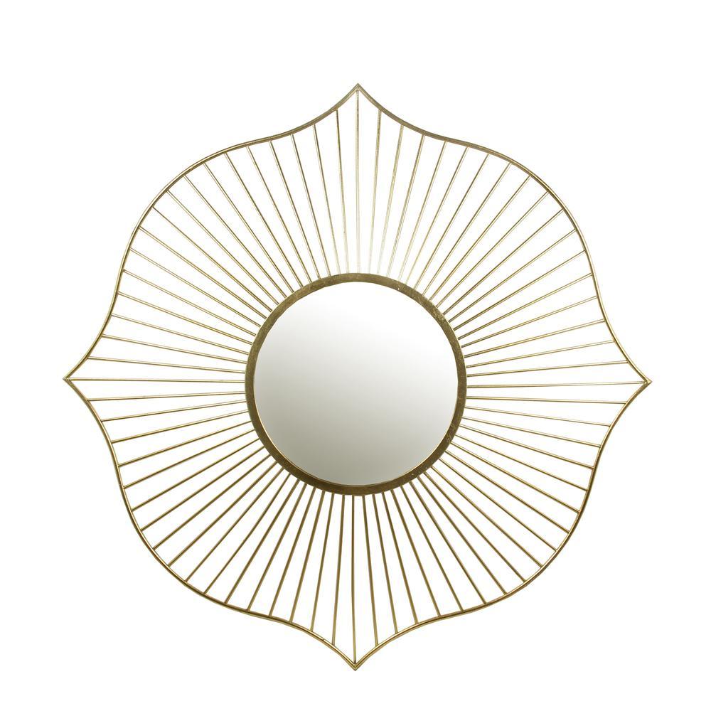 Wall Mirror Gold Leaf