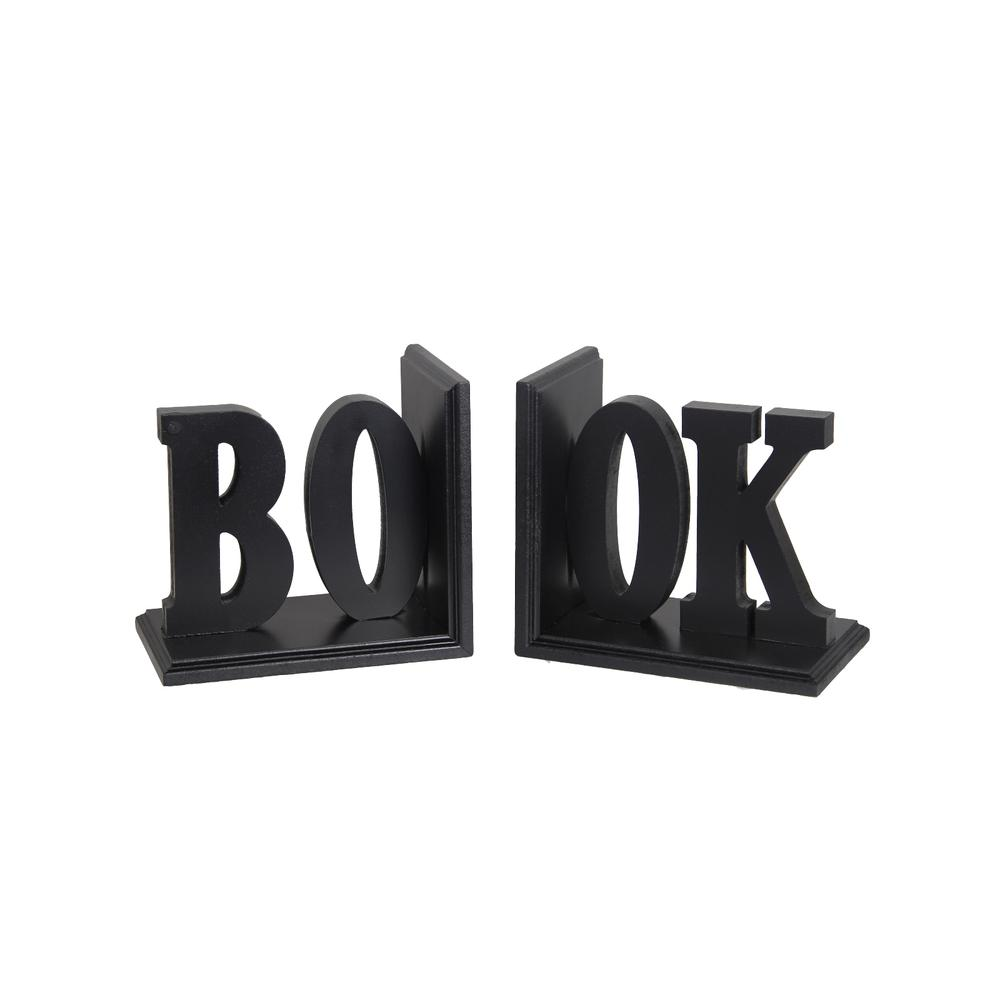 Wooden Bookends - Book