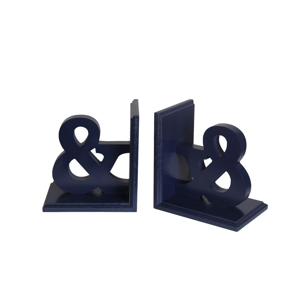 Wooden Bookends - &