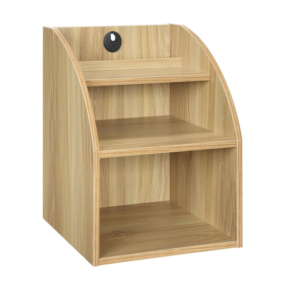 Desktop Organizer w/ Shelf. Picture 1