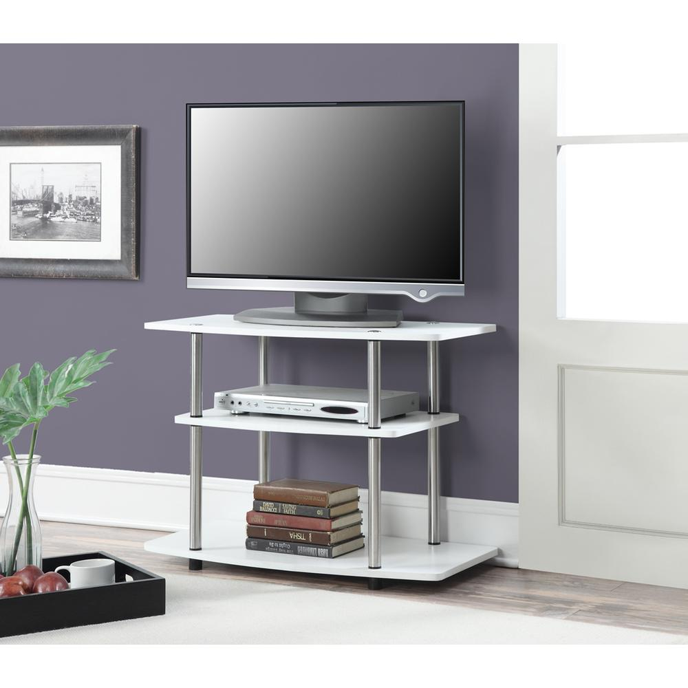 Designs2Go 3 Tier TV Stand. Picture 1