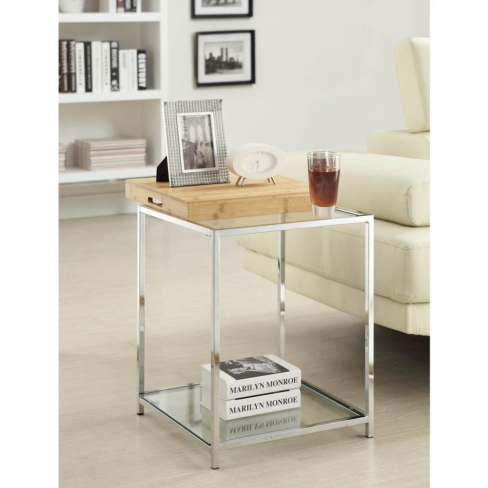 Palm Beach End Table. Picture 1