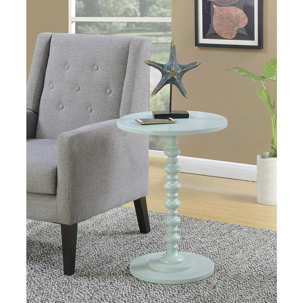 Palm Beach Spindle Table. Picture 1