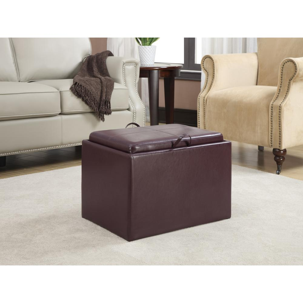 Accent Storage Ottoman. Picture 3