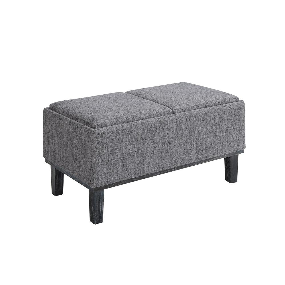 Designs4Comfort Brentwood Storage Ottoman. Picture 4
