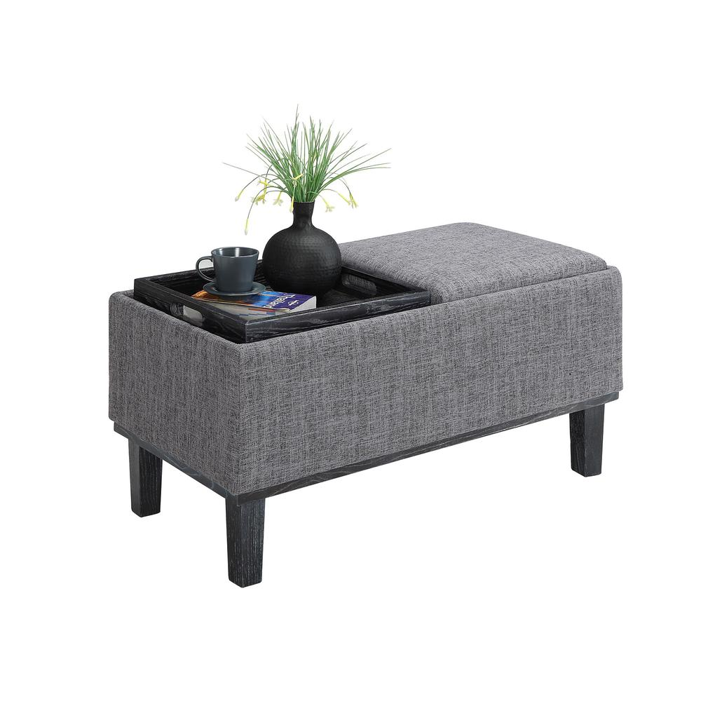 Designs4Comfort Brentwood Storage Ottoman. Picture 3