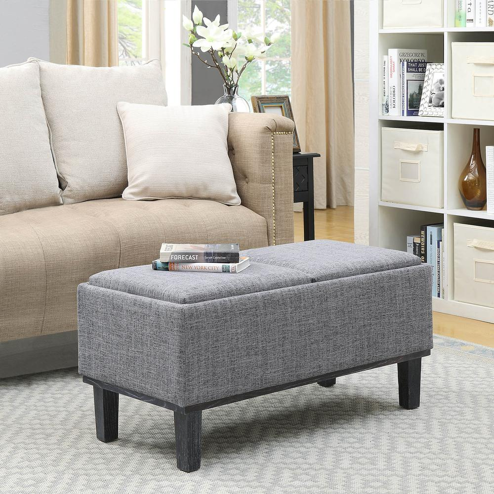 Designs4Comfort Brentwood Storage Ottoman. Picture 2