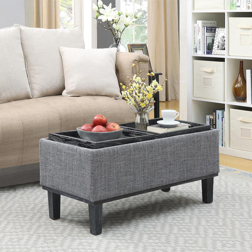 Designs4Comfort Brentwood Storage Ottoman. Picture 1