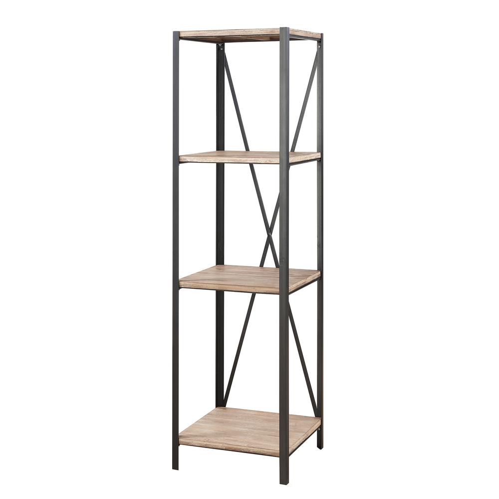 Wyoming 4 Tier Bookcase Tower. Picture 1