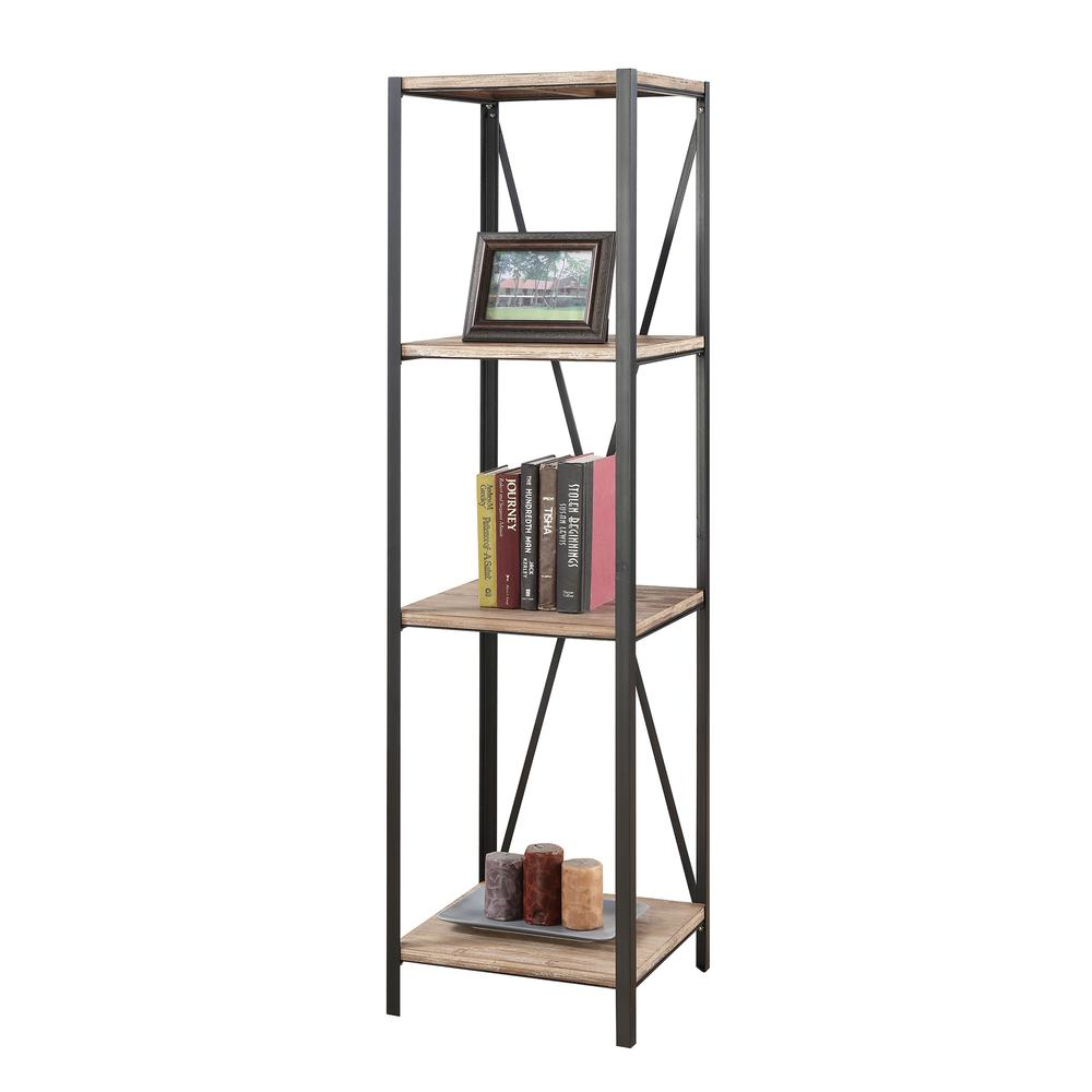 Wyoming 4 Tier Bookcase Tower. Picture 2