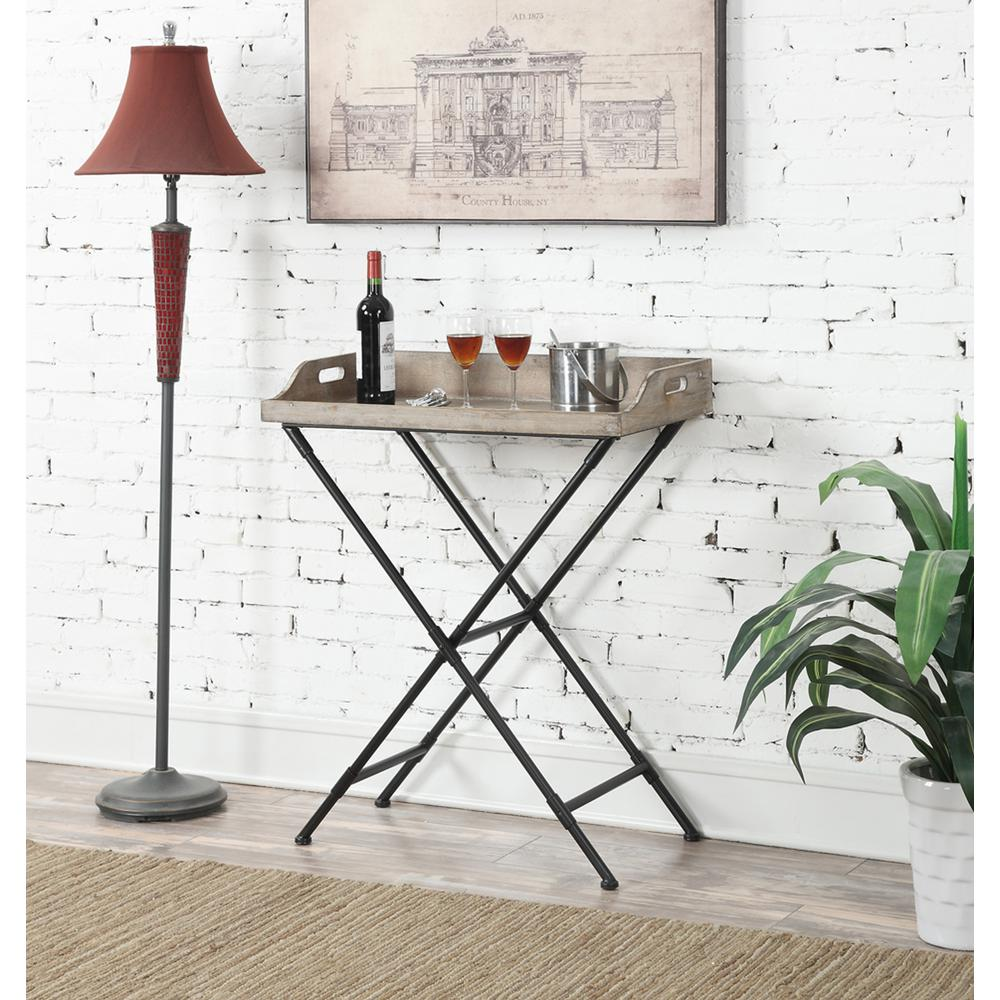 Wyoming Serving Bar Table. Picture 1