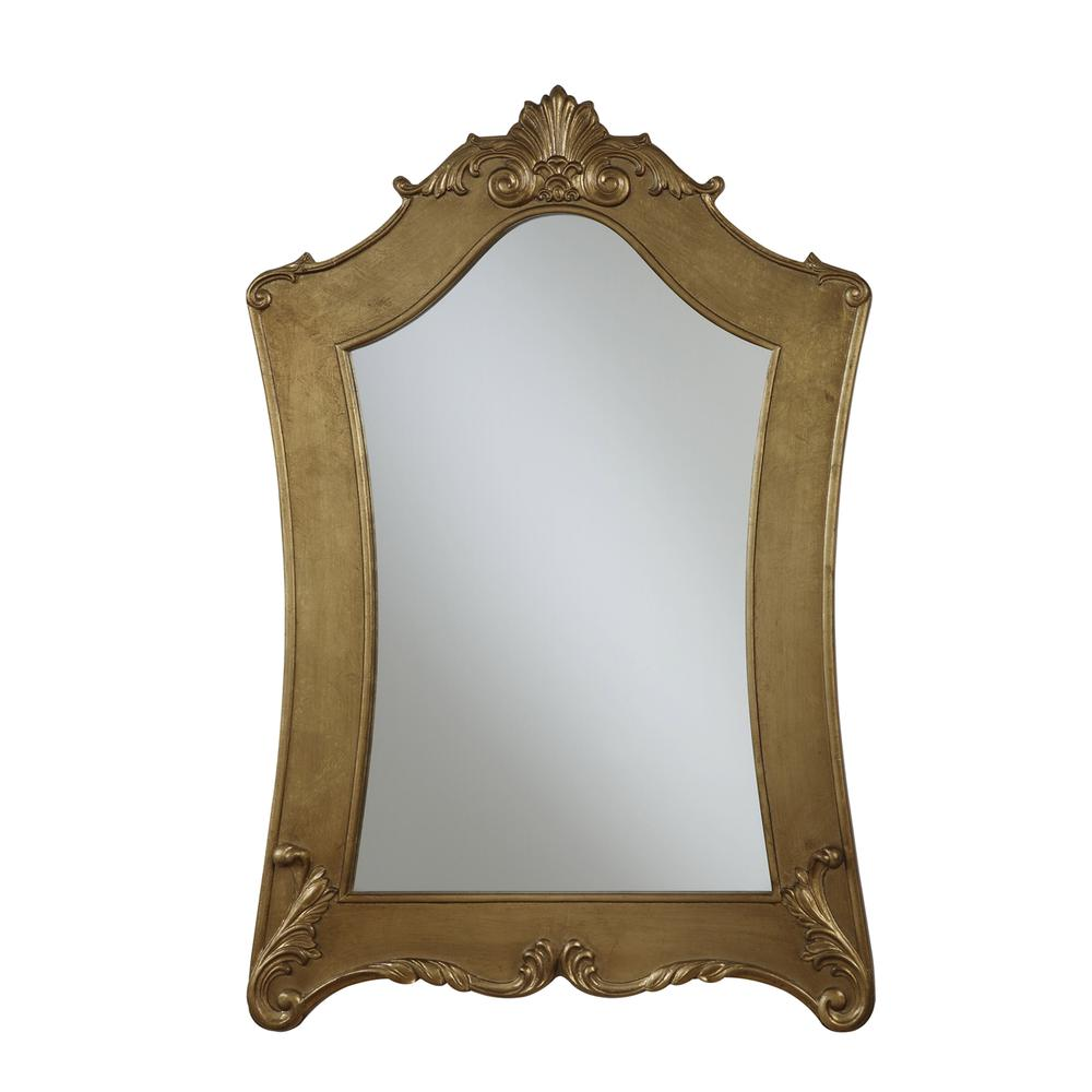 Gold Coast Victorian Gold Frame Mirror. Picture 3