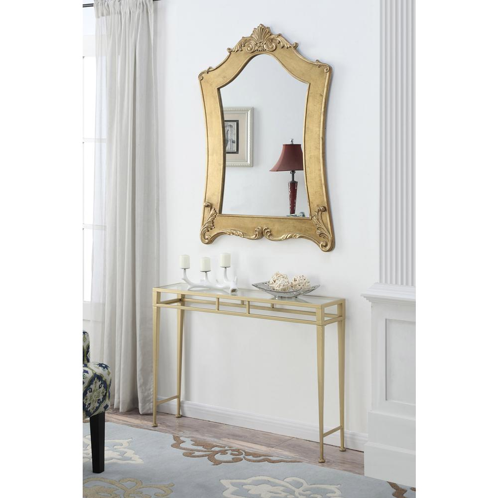 Gold Coast Victorian Gold Frame Mirror. Picture 1