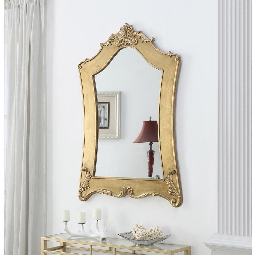 Gold Coast Victorian Gold Frame Mirror. Picture 2