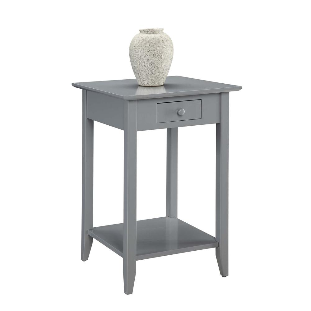 American Heritage End Table with Drawer and Shelf. Picture 3