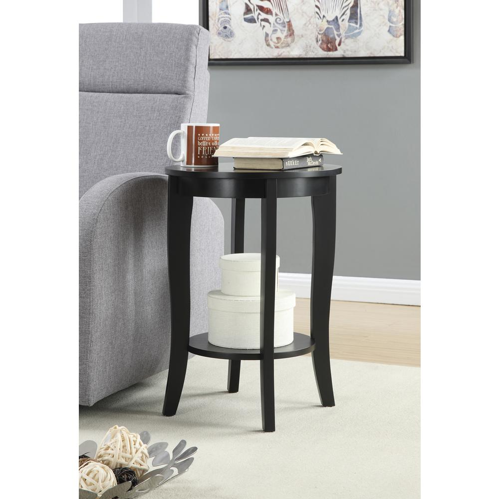 American Heritage End Table: American Heritage Round End Table