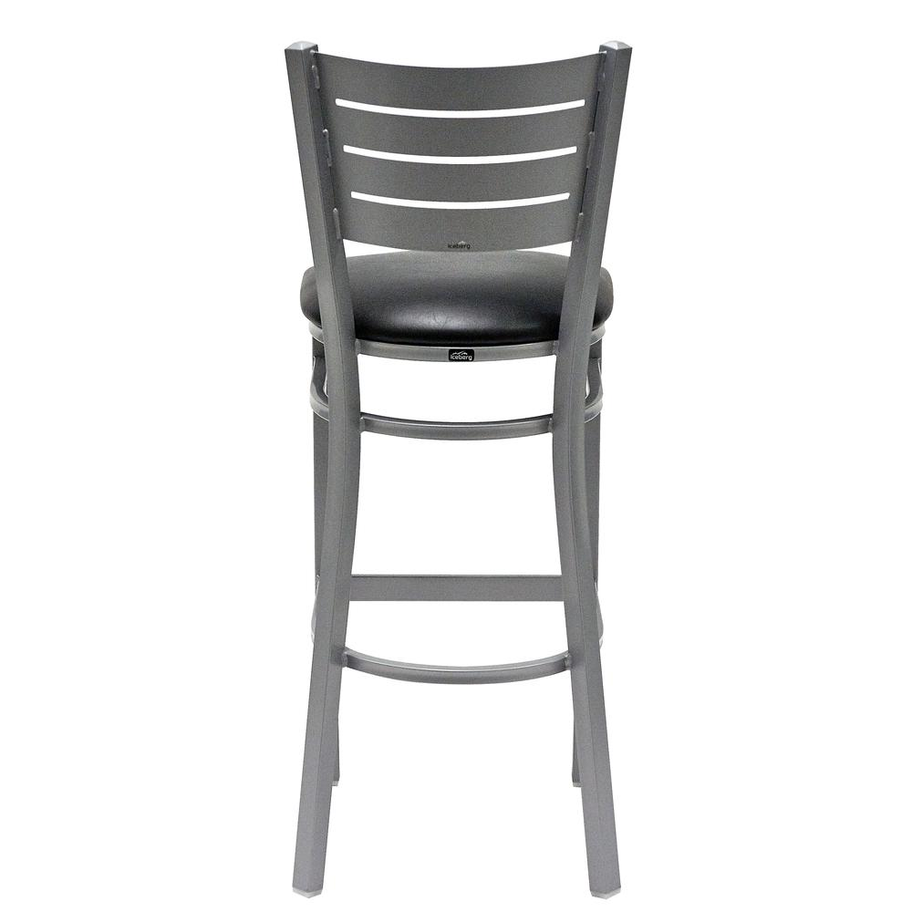 Iceberg Bistro Metal Stool with padded seat. Picture 9