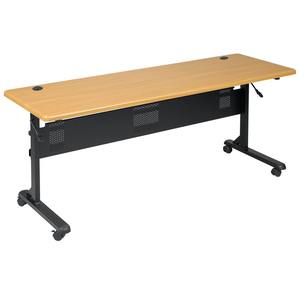 """Flipper Conference Table -Rectangle-72""""x24""""x29.5""""-Polyvinyl Chloride (PVC). Picture 1"""